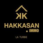 Logo agence immobilière HAKKASAN IMMO
