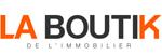Logo La Boutik de l'immobilier