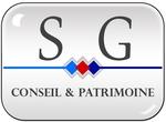 Logo agence immobilière SG Conseil et Patrimoine