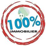 Logo 100% Immobilier (Siège)