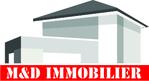Logo agence immobilière M ET D IMMO