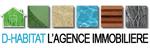 Logo agence immobilière D-Habitat