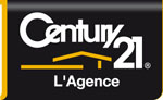 Logo agence immobilière CENTURY 21 L'AGENCE