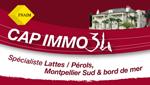 Logo agence immobilière Cap Immo 34 / FNAIM 34
