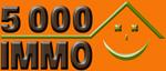 Logo 5000 immo