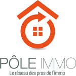 Logo agence immobilière gwconsulting/ P�le immo