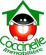 Logo agence immobilière La Coccinelle Immobilière