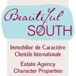 Logo Beautiful South / FNAIM