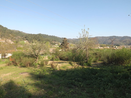 vente terrain LALEVADE D'ARDECHE 1400m2 32000€