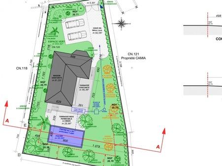 Vendre maison Cap d'Antibes 1 990 000  €