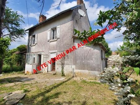 vente maison Saint-Yrieix-la-Perche 2900m2 61000€