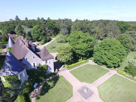 vente chateau VIERZON 775m2 880000€
