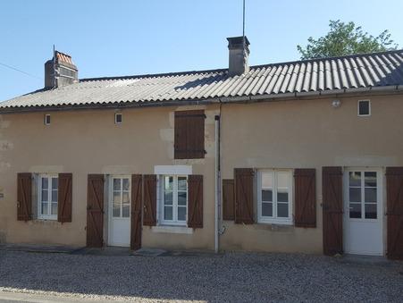 vente maison CIVAUX 68m2 54000€
