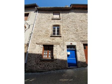 vente maison Saint-Yrieix-la-Perche 78m2 51000€