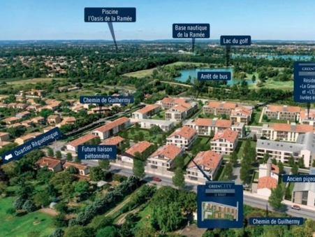 vente neuf TOULOUSE 89.67m2 339900€