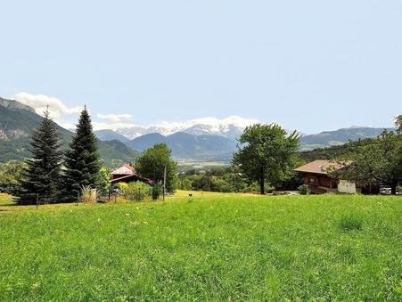 vente terrain SALLANCHES 1001m2 229000€