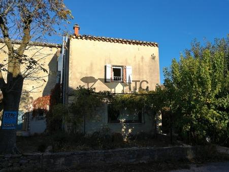 vente maison SAINT SAUVEUR DE CRUZIERES 118.71m2 155000€