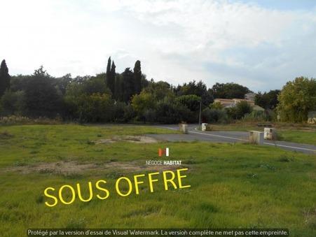 vente terrain collorgues 749m2 83000€