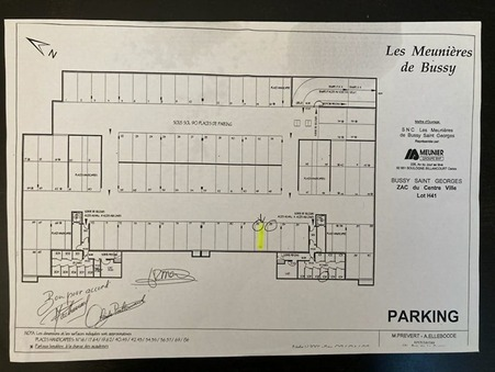 Achat parking / box bussy-saint-georges 15 000  €