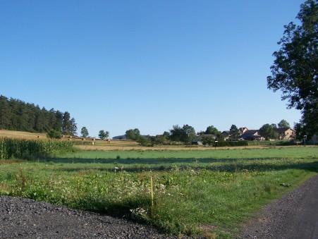 vente terrain YSSINGEAUX 848m2 49700€