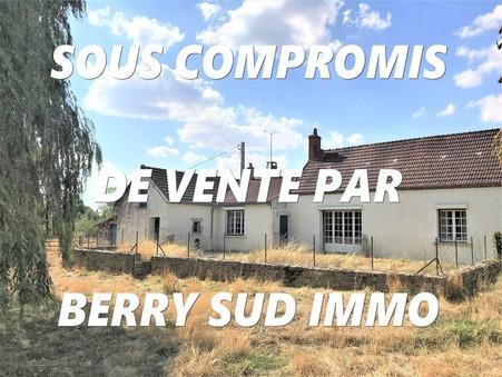vente maison SANCOINS 100m2 132000€