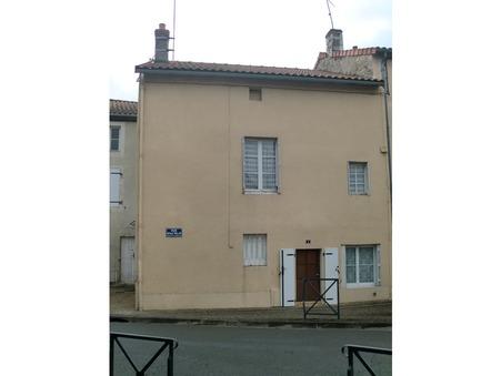 vente maison CHAUVIGNY 50m2 40500€