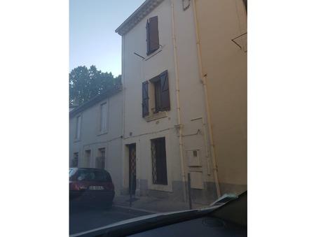 Vente maison BEZIERS 75 000  €