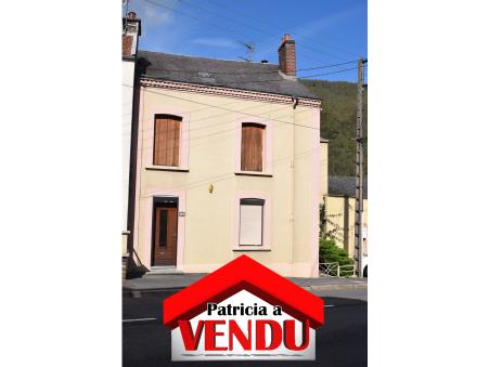 Vente maison MONTHERME 130 m²  115 000  €