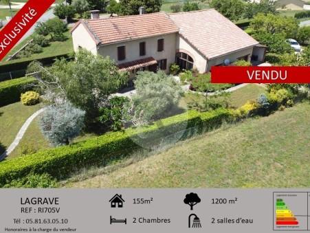 Achète maison LAGRAVE  260 000  €