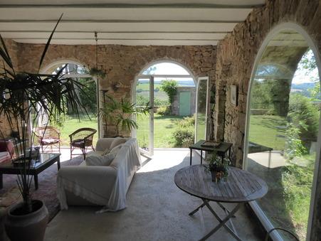 vente maison VEZINS DE LEVEZOU  315 800  € 352 m�