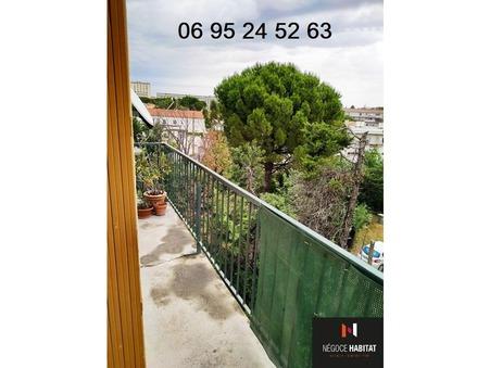 Achat appartement montpellier 64 m²  115 000  €