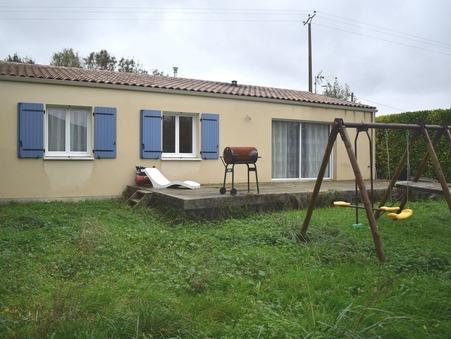 vente maison Tonnay boutonne  137 800  € 96 m²