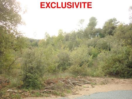 Vends terrain FLASSANS SUR ISSOLE  117 000  €