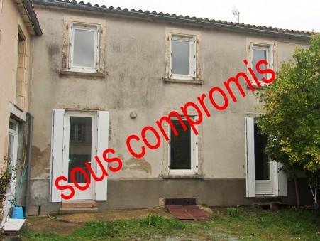 Vends maison POUZAUGES 75 250  €