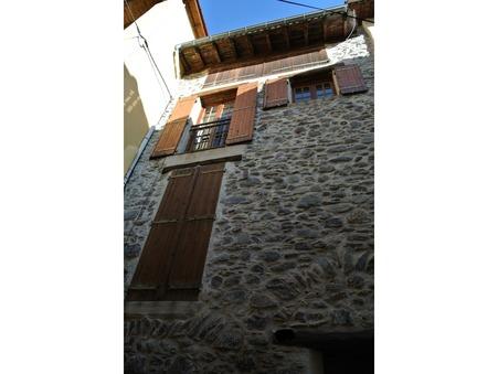 vente maison Saint-sauveur-sur-tinée 120m2 157500€