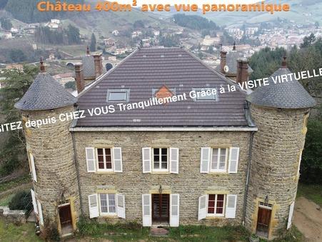 vente chateau TARARE  790 000  € 400 m²