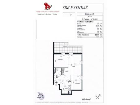 location appartement Saint-Nazaire 57m2 599€