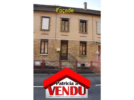 A vendre maison BOGNY SUR MEUSE 60 m² 44 000  €