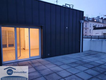 Location appartement lyon 57.52 m²  989  €