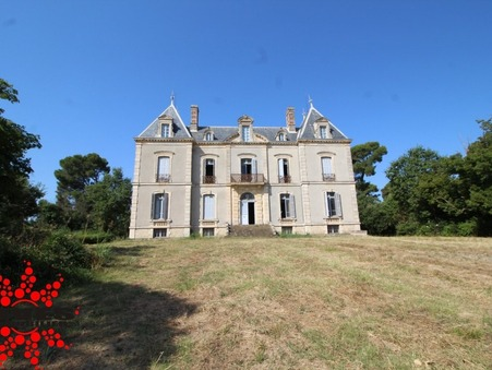 vente chateau MONTADY  884 000  € 742.11 m²