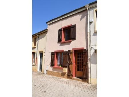 Vends maison MONTHERME 65 000  €