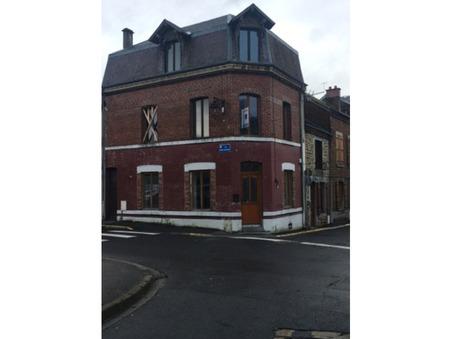 vente maison Revin 90m2 52000€