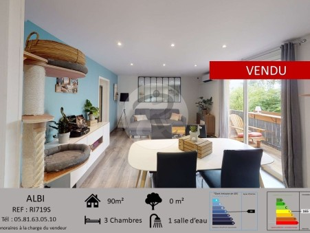 Vendre appartement ALBI  195 000  €