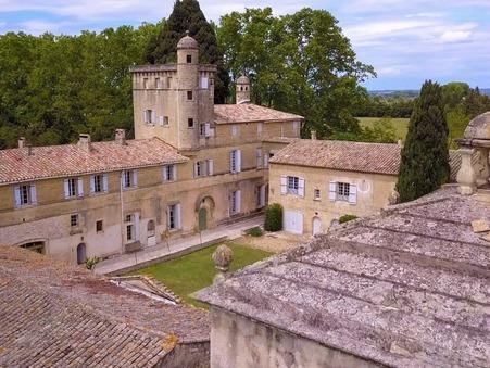 vente chateau AIGUES MORTES PROCHE 2 600 000  € 1500 m²