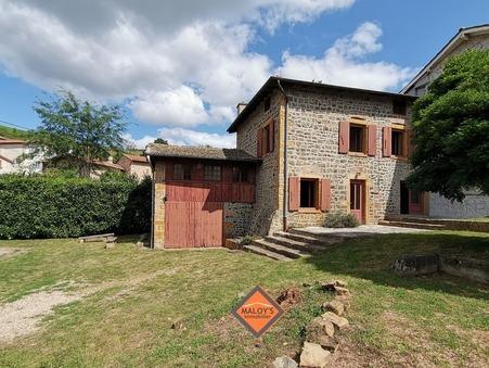 A vendre maison Pontcharra sur turdine  312 000  €