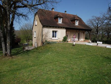 vente maison cressensac-sarrazac  269 000  € 250 m²