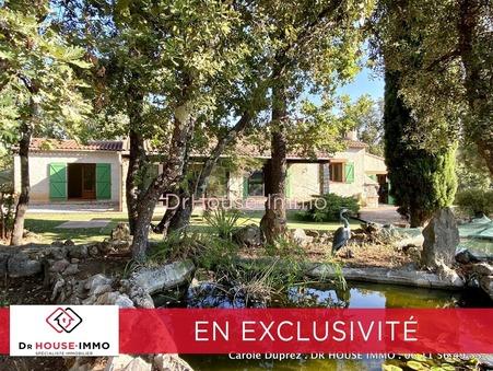 vente maison lorgues  399 000  € 112 m�