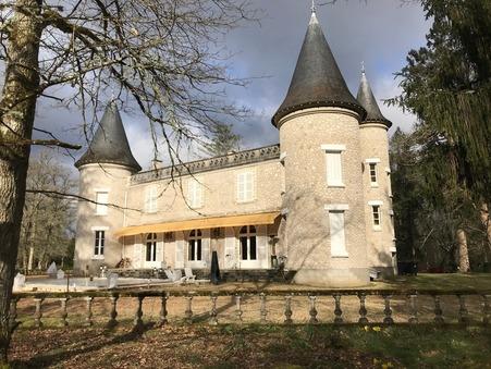 vente chateau SALBRIS 550m2 840000€