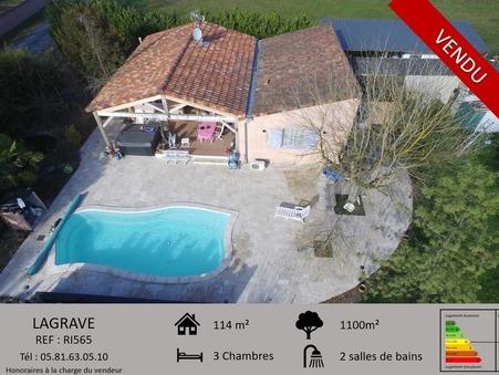 Acheter maison LAGRAVE  185 000  €