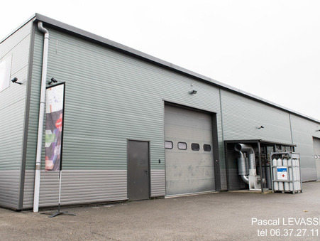 vente entrepot Frontonas  945 000  € 780 m²
